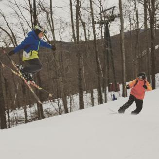 Silas jumping