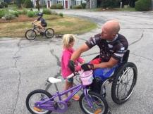 Learning about bike maintenance