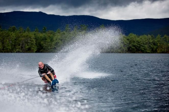 Geoff Krill waterski