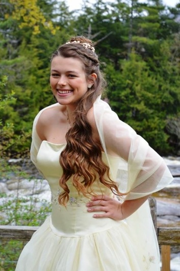 Prom hair...thank you Sam for letting me share this gorgeous pic!
