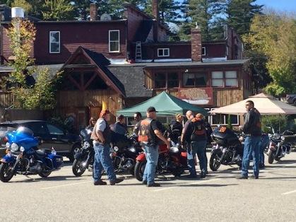 Truant's Tavern post ride!